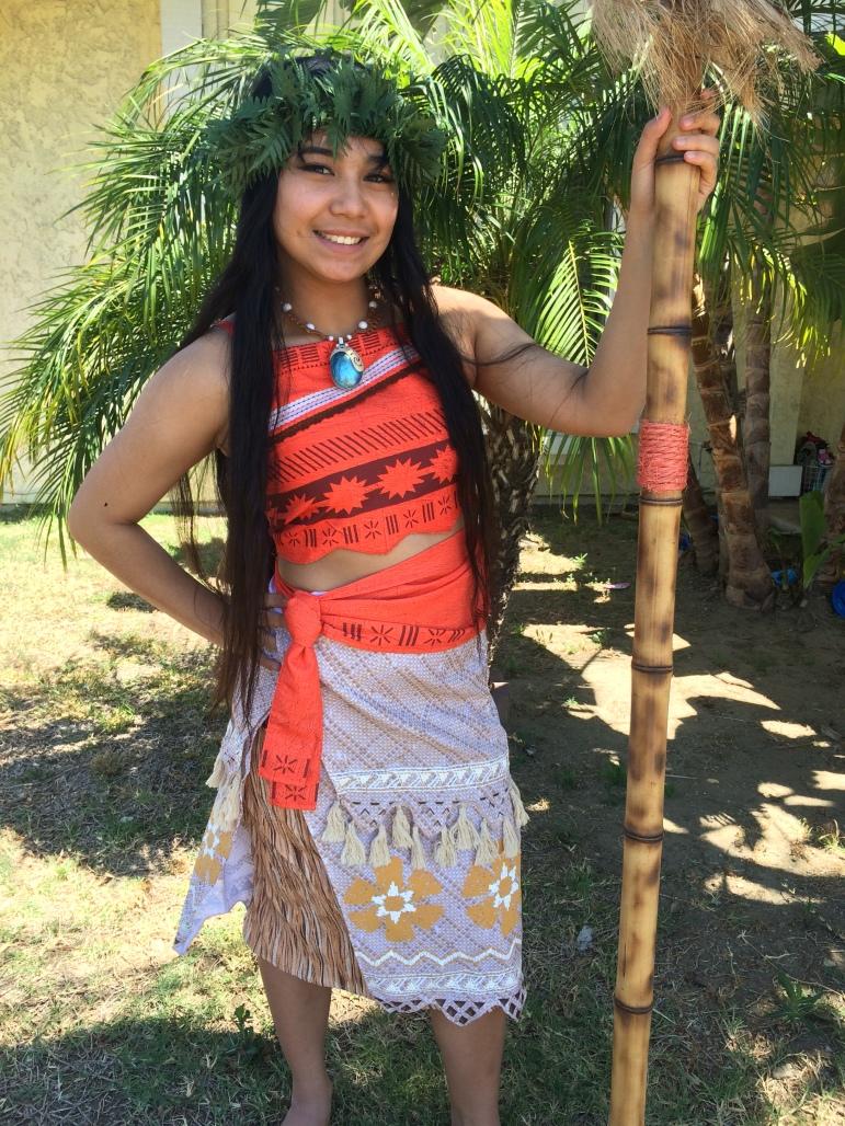 Maui as Moana_2